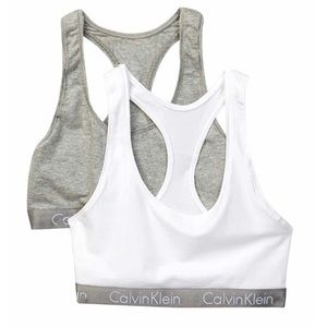 Calvin Klein 2 pack sports bra size Med or Large